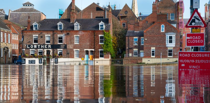 Many places are affected by flooding. Photo by Andy Falconer on Unsplash