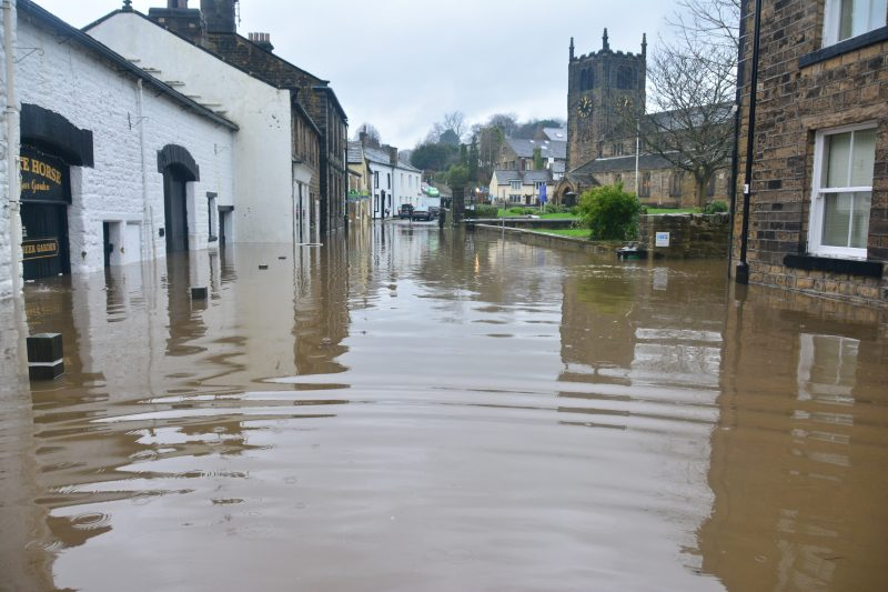Floods can cause severe disruption to businesses.